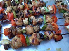 Gluten Free Chicken Vegetable Yakitori | Cybele Pascal