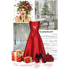 """""""Holiday dress!"""" by kendraborneman on Polyvore"""