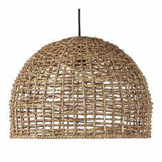 PR Home Taklampa Cebu 37 cm - Natur - Taklampor - Ellos. Cebu, Large Pendant Lighting, Pendant Lamp, Basket Lighting, Lampe Decoration, Woven Shades, Black Ceiling, Lighting Solutions, Light And Shadow