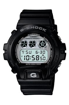 This beautiful watch is one of the Casio G-Shock line, which I have been wearing since high school.  I love their tough design and oversized appearance because they really stand out in a croud | Casio 'G-Shock Matte' Digital Watch | Nordstrom