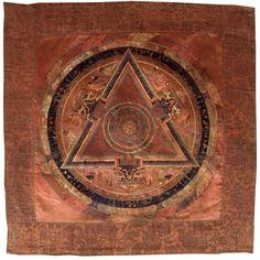"""animus-inviolabilis: """" Bernagchen Mahakala Mandala ca. 1700 - 1799 Karma Kagyu…"""
