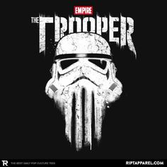 THE TROOPER T-Shirt - Star Wars T-Shirt is $13 today at Ript!