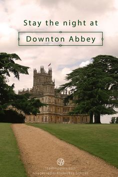 ~~Stay the night at Downton Abbey! England's Highclere Castle, the filming location for Downton Abbey, is about to open its doors to overnight guests! | Roadtrippers~~