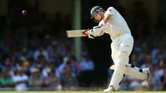 Steve Smith's century and 75 from Brad Haddin help Australia to 326 all out on the first day of the final Ashes Test. Steve Smith, Cricket, Athlete, England, News, Sports, Hs Sports, Sport, United Kingdom