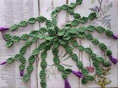 PriePraat: De Lidcactus Crochet Pot Leaf, Crochet Fish, Crochet Cactus, Crochet Leaves, Freeform Crochet, Crochet Chart, Crochet Motif, Crochet Flower Patterns, Crochet Designs