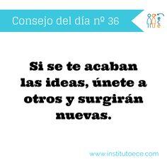 Busca nuevas ideas