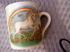 Vintage Unicorn Mug.