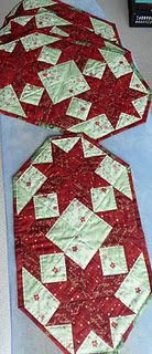 quilted stars placemats