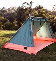 $185, Lean-to tent, Sales go to Brooklyn Recovery Fund for local Hurricane Sandy relief efforts, The ultimate girl's guide to camping - Color Coded | Gallery | Glo