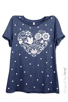785198f76f22 Dámske tričko modré melírové viera