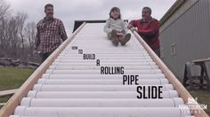 Build a Rolling Pipe Slide For Your Backyard As a parent, I am constantly looking out for fun activities for the kids. I'm pretty sure I'm not alone. In our backyard, we have a sandpit, a tepee,… Backyard Swings, Backyard For Kids, Backyard Games, Backyard Projects, Garden Kids, Backyard Landscaping, Diy Projects, Backyard Slide, Deck Slide