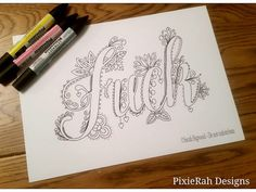 A fancy swear word colouring book for adults! For the days when only a big swear will do! Created by Sarah