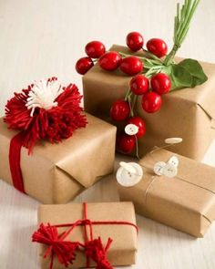 Kraft Paper Gift Wrap | Sweet Paul Magazine