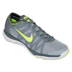 quality design b021c fddd6 Nike Womens Flex Supreme TR 3 Cross Trainer Wolf GreyVoltStealthCl Grey 9 BM  US