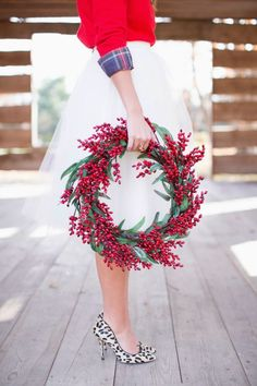 Christmas Blend:: Glamorous Christmas :: Red + Gold + Plaid