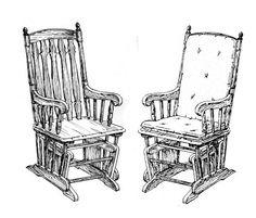 Кресло качалка маятниковая глайдер чертеж - Поиск в Google