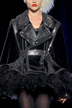 Jean Paul Gaultier at Couture Fall 2011 WOW!