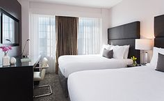 How To Make A Bedroom With 2 Queen Beds Not Look Like A Hotel Endearing 2 Bedroom Hotel Suites In Washington Dc Review
