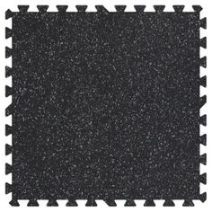 Groovy Mats Grey Speck 24 in. x 24 in. Rubber Comfortable Mat (48 sq.ft. / Case)-GYCRMGY - The Home Depot