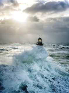 Ar Men Lighthouse - Brittany, France