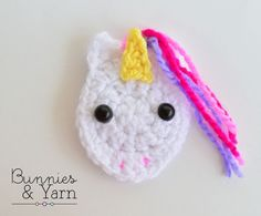 ***THIS IS A CROCHET PATTERN, NOT THE ACTUAL ITEM***  Make your own Unicorn Applique with this CROCHET PATTERN.  The pattern includes instructions on how to make a cute applique.  This PDF pattern includes 6 pages with step by step instructions and photos, so you can crochet your own product.  Finished Unicorn Applique is about 2.5 in. (6 cm.) tall.  English Pattern Only. US Crochet Terms.  For this pattern you need to have basic-intermediate crochet skills and to know how to read crochet…