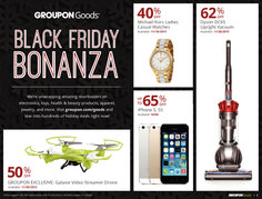 Groupon Goods 2015 Black Friday Ad...check out the 20 pages of #BlackFriday deals.