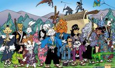 "Usagi Yojimbo - Best of Dark Horse - ""Why Usagi Yojimbo is the Best Series at Dark Horse"" - fans of Stan Sakai and his iconic samurai rabbit will want to give this a read! Saga, Usagi Yojimbo, Comic Art, Comic Books, Couple Cartoon, Best Series, Dark Horse, Teenage Mutant Ninja Turtles, Comic Covers"