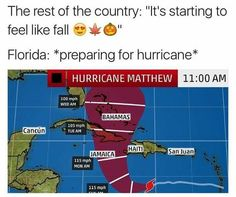 Hurricane Memes for Floridians - 20 Pics – Funnyfoto - Page 16 Stupid Funny Memes, Funny Relatable Memes, Hilarious, Florida Hurricane Season, Florida Meme, Rain Humor, Hurricane Memes, Orlando Strong, Funny Pictures Images