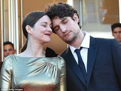Good pals! Having starred together on-screen, Marion andLouis Garrel have clearly remained close