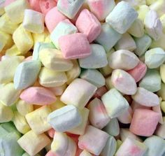 Butter mints!  These were always found at weddings, parties, and at restaurant check-outs.