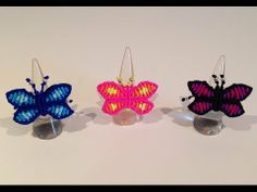 ▶ Macrame butterfly - YouTube easy to follow tutorial good for kids and beginners!!!