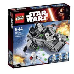#Lego #LEGO® #75100   LEGO Star Wars First Order Snowspeeder 444Stück(e) Gebäudeset  Alter: 8+ Teile: 444LEGO Star Wars First Order Snowspeeder, Alter: ab 8 Jahren, Teile: 444    Hier klicken, um weiterzulesen.  Ihr Onlineshop in #Zürich #Bern #Basel #Genf #St.Gallen