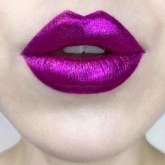 Lipstick Tattoos, Lipstick Art, Purple Lipstick, Lipstick Dupes, Lip Art, Lipstick Colors, Liquid Lipstick, Lip Colors, White Lipstick