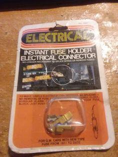 Tim's Auto Sales: Vintage 1977 Instant Fuse Holder Electrical Connec...