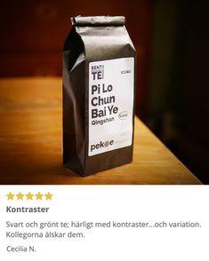 Tack Cecilia!  . #kontraster #ekologisktte Tack, Coffee, Drinks, Kaffee, Drinking, Beverages, Drink, Cup Of Coffee, Beverage
