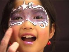 Fairy Face Painting Product | cute and easy face painting design for all little girls who love ...