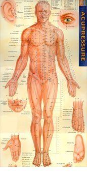 Lifewave Acupressure Chart by Lifewave Acupressure Chart. A full color reference guide displaying the meridians of the body