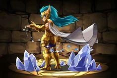Cavaleiro de ouro - Camus de Aquário - versão chibi