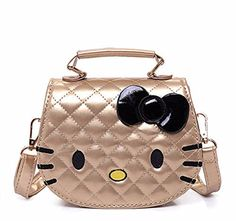 ab2f1e44e3 Character Shoulder Bags Cartoon Hello Kitty Shoulder Bag Large Handbags for  Girls Women Cat Shape Pink Lady Baby Kids Waterproof