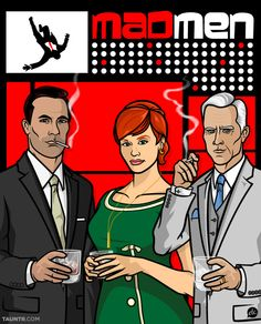 mad men as archer characters. I would watch this show