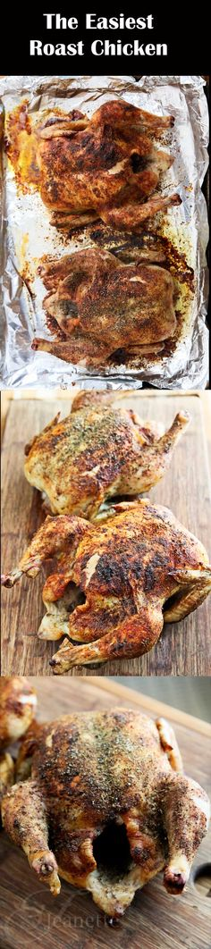 The Easiest Herb Spiced Roasted Chicken (and homemade broth from bones)