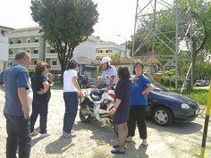 La protesta in via del Tiro a Segno per le strisce pedonali (2)