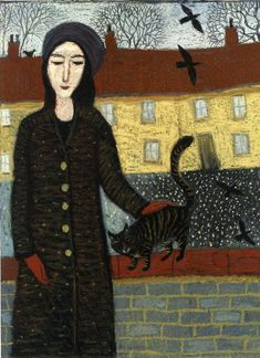 Dee Nickerson - Cat on a wall