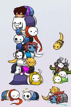 undertale Tsum-Tsum by Zarla-S Undertale Undertale, Undertale Drawings, Frisk, Godzilla, Toby Fox, Underswap, Dibujos Cute, Fan Art, Best Games