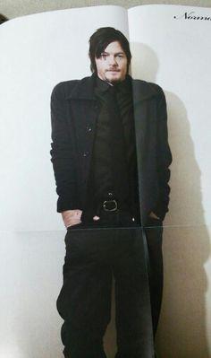 Norman Reedus: man in black