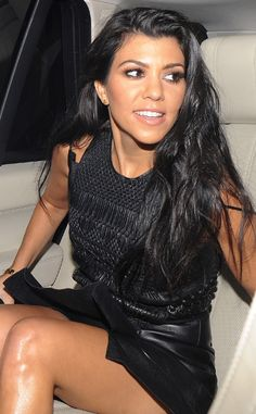 London lady! The E! reality star looks glamorous as she heads for a late dinner at Restaurant Ours in London.