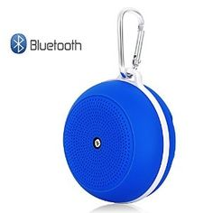 FULiYEAR Portable Bluetooth Speakers Mini for Camping Hiking Climbing Outdoor Sports - Blue Bluetooth Speakers, Mini, Climbing, Hiking, Sports, Outdoor, Walks, Hs Sports, Outdoors