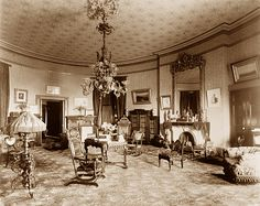 Historic Photographs The JAMES A GARFIELD White House 1881