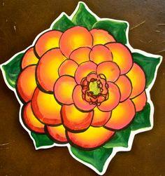 """""""Bloom"""" - acrylic"""