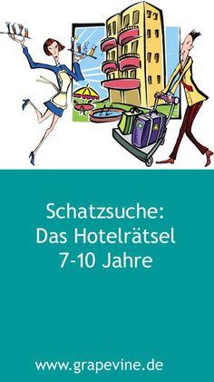 Schatzsuche: Das Hotelrätsel 7-10 Jahre #detectivefeetje #speurtocht #grapevine #kinderfeestje